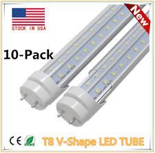 T8 V shape Led Tube Light free shipping 4ft Cool white Smd2835 G13 tube 36w Lamp