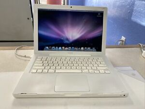 Apple Macbook A1181 Core 2 Duo Late 2007 Mac O/S 10.5.8 Leopard has Bad Battery