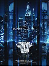 PUBLICITE ADVERTISING 025  2014  HARRY WINSTON   joaillier 2