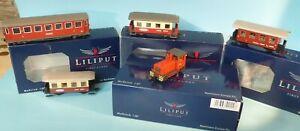 Liliput 142120 Diesellok D11 Zillertalbahn H0e Schmalspur+4 Personenwagen Ep.4/6