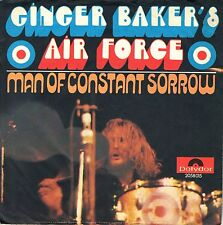 "7"" Ginger Baker's Air Force (The Cream) - man of constant sorrow // Germany 1970"