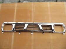 Chrome&Black Grill For Nissan 1993-1997 D21 Pickup King-Cab Navara With Clips