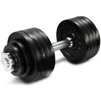 Yes4All 52.5 lb Adjustable Weight Dumbbells for Gym Fitness (Single)