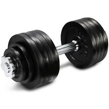 Yes4All 52.5 lb Adjustable Weight Dumbbells for Gym Fitness (Single)²43