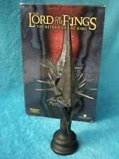 SIDESHOW WETA Herr der Ringe WAR MASK OF THE MORGUL LORD Büste Lord of the Rings