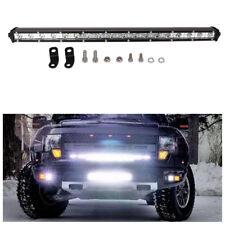 "19"" 54W Slim Car SUV Offroad LED Work Light Bar Roof light Spotlight Sense light"