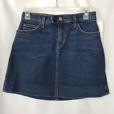 "Current Elliot Les Jupes Mini Denim Skirt Medium Wash Size 26 ""Flaws"" NWOT N"