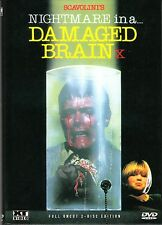 Nightmare in a damaged Brain , 2 Disc - small hardbox edition , 100% uncut