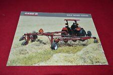 Case International WRX Wheel Rake Dealer's Brochure YABE14