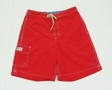Polo Ralph Lauren Red Swimsuit Surf Swim Board Shorts Mens Small