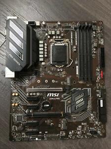 MSI Z390-A Pro - Intel Motherboard CPU i3 i5 i7 LGA1151 v2 DDR4 DVI HDMI