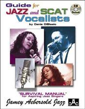 Partition+CD voix - Denis Diblasio - Guide for Jazz Scat Vocalists Survival Man