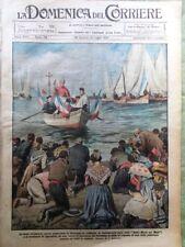 La Domenica del Corriere 3 Luglio 1921 Provenza Mare Giro d'Italia Monumenti Re