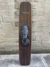 """Vintage Taperflex Trik Star Water Ski 44"""" x 19"""" Great Shape ONLY 1"""