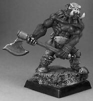 1 x BULL ORC BERSERKER - WARLORDS REAPER miniature d&d jdr rpg 2H axe 14404r