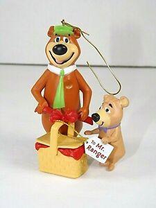 Yogi Bear and Boo Boo 1996 Hallmark Keepsake Ornament Christmas Picnic Basket