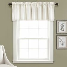 Linen Lace Valance Light Linen Single 52X18+2