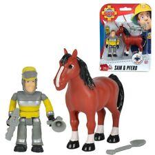 Tierrettung Sam & Pferd | Feuerwehrmann Sam | Spiel Figuren Set | Simba