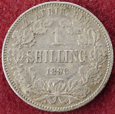 South Africa Shilling 1896 (D0804)