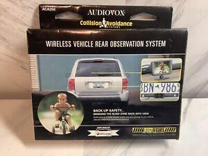 "Audiovox 2.5""Wireless Vehicle Rear Observation System Backup System ACA250 New"