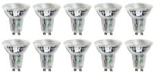 10 x Megaman 142216 LED GU10 PAR16 Bulbs 35° 4000K Cool White Glass Finish 4.5W