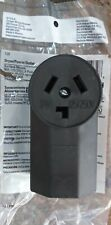 125 COOPER WIRING DEVICE DRYER POWER OUTLET 30A-125/250V, NEMA 10-30R
