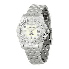 Breitling Galactic 32 Mother of Pearl Diamond Dial Ladies Watch A71356L2-A708SS