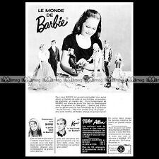 Mattel Vintage BARBIE, Skipper, Ken, Midge, Allan - 1965 Pub Publicité Ad #A133
