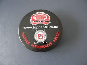 HC PARDUBICE- Czech Extraleague Hockey Puck
