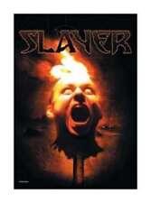 Slayer Fahne Flagge Torch Head Textilposter Textil Flag Posterflagge