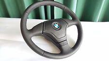 BMW M3 M5 E36 E34 E39 E31 Z3 New Perforated Leather Steering Wheel ///M Stitch