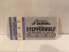 Steppenwolf Concert Ticket Stub 7-17-1986 St Louis