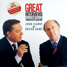 John Clarke & Bryan Dawe-Great Interviews Of The Twentieth Century-LP 1990