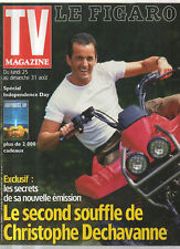 FIGARO TV 23/08/1997 christophe dechavanne