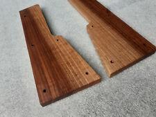More details for behringer vocoder vc340 synthesizer wooden side panels end walnut wood