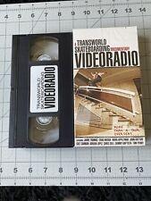 Transworld Videoradio Vhs Skateboard Video Skate Magazine Thrasher Zero Penny