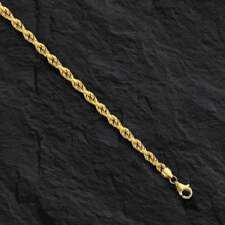 """14k Solid Yellow Gold ROPE Pendant link Chain/Necklace 16"""" 2 mm 3.5 grams ROY014"""