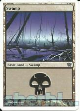 MTG Magic the Gathering TCG 9th Ninth Edition SWAMP Basic Land 340 /350