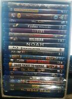 HUGE Lot of 20 Like New & Used Blu-Ray Movies
