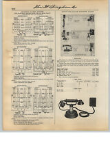 1931 PAPER AD 10 PG Couch Phone Telephone Systems Switchboard Commercial Units