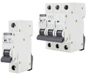 LS-Schalter Leitungsschutzschalter MCB Sicherungsautomat B C 1-3P 6-63A