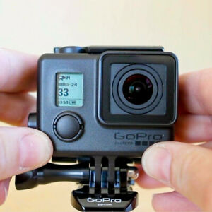 Gopro HERO 4 Black Edition 4K Action Camera + Remote +64G SD Card +Blackout Case