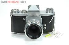 KW Practica IV SLR Camera w/ 50mm f2.8 tessar. Graded: EXC [#8925]