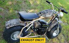 Exhaust Header for: Coleman Powersports Ct200U 196cc/6.5Hp Gas mini bike.