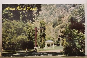 California CA Little Yosemite National Park Alum Rock Park San Jose Postcard Old
