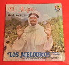 LP LOS MELODICOS DE RENATO CAPRIILES -EL JEQUE MANOLO MONTERREY IN SHRINK!
