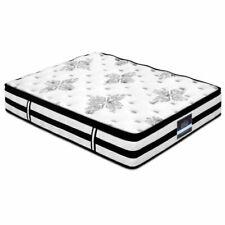 Giselle Bedding Queen Size Thick Foam Mattress - Black/White (MATTRESS-0908-QUEEN)