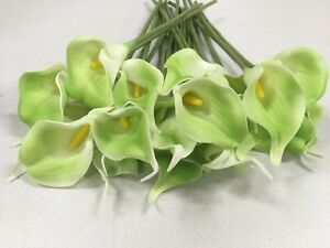 Calla lily -- ArtificialFlower Wedding Party Bridal Bouquet Home Decor--NEW