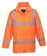 Portwest Workwear Hi-vis Rain Jacket - H440 3 XL H440ORRXXXL Orange