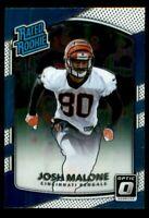 2017 Donruss Optic Football Card #171 Josh Malone RR RC
